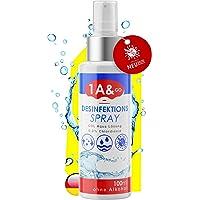 1A&GO - Desinfectante de alta calidad, 100 ml