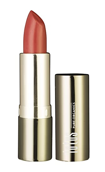 Lotus pure organics. Natural Lipstick – Rose Berry, Fashionable Colors, Long lasting, Gluten Free, Cruelty Free, Lead Free, Non-Toxic Chemicals, Enriched with Vitamin E, Smooth and moisturized. (Rose Berry)