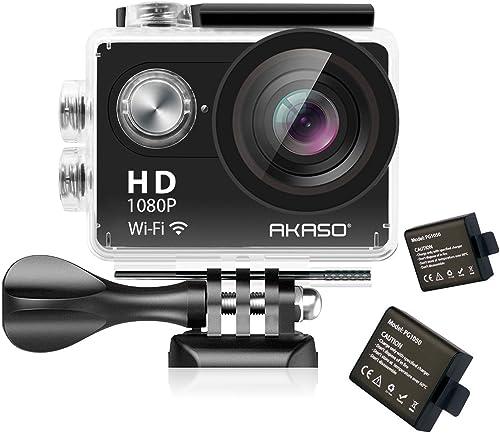 AKASO Sports Action Camera Full HD Camcorder 12MP Wi-Fi Waterproof Camera review