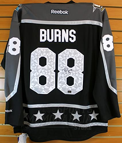 Brent Burns San Jose Sharks Signed Autographed 2017 NHL All-Star Hockey  Jersey d2d856fbb