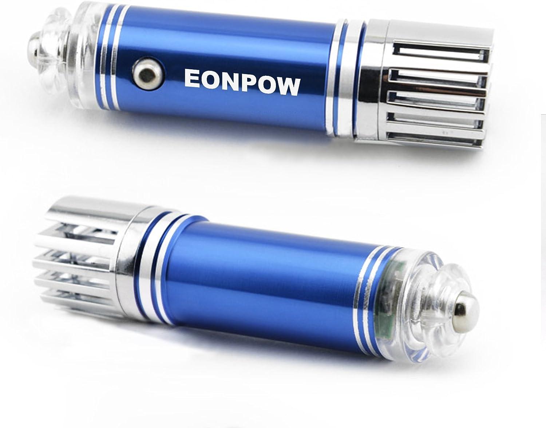 Coche purificador de aire, EONPOW potente ionizador, barra del oxígeno, ambientador para coche, filtro de aire, elimina el humo del cigarrillo, bacterias, polvo, polen, olor y malos olores: Amazon.es: Hogar