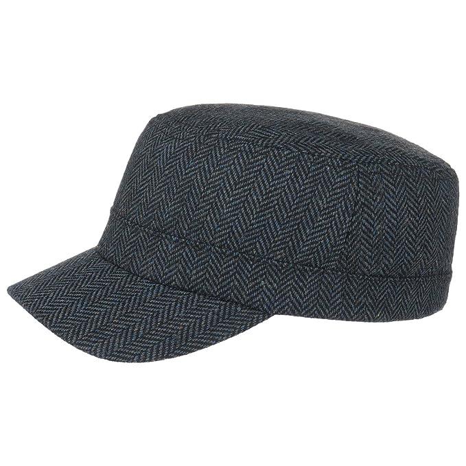 Lipodo Cappellino Militare Herringbone  ef39f8e706ba