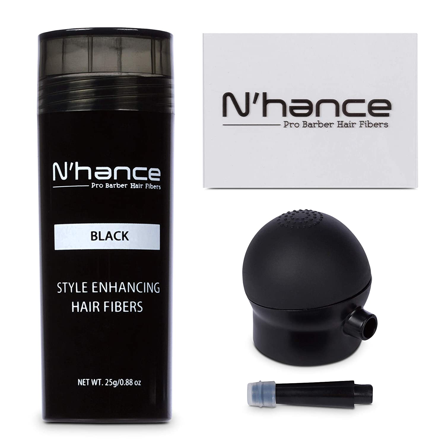 N'Hance Professional Hair Fiber Hold Spray by The Rich Barber