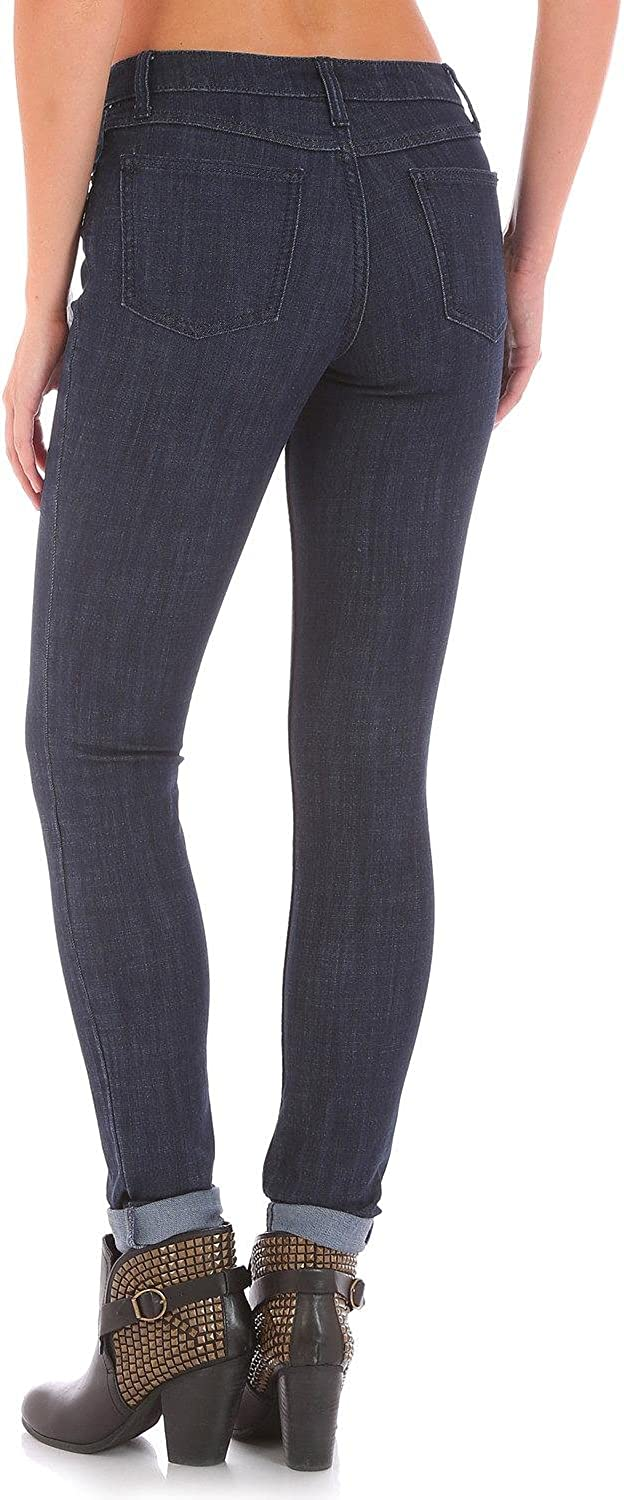security Wrangler Women's Western Max 44% OFF Mid Stretch Skinny Jean Rise