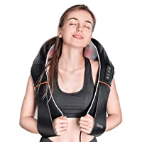 Deals on Renpho Shiatsu Neck and Shoulder Back Massager w/Heat RF-SNM060