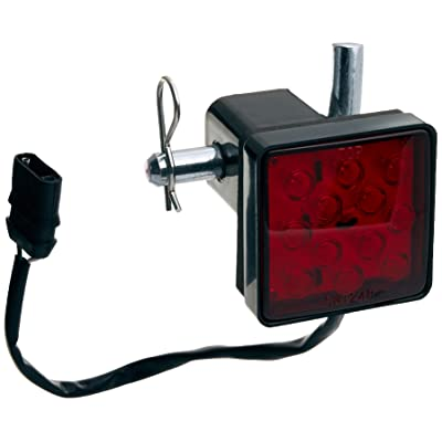 MAXXHAUL 70429 Trailer Hitch Cover with 12 LEDs Brake Light: Automotive