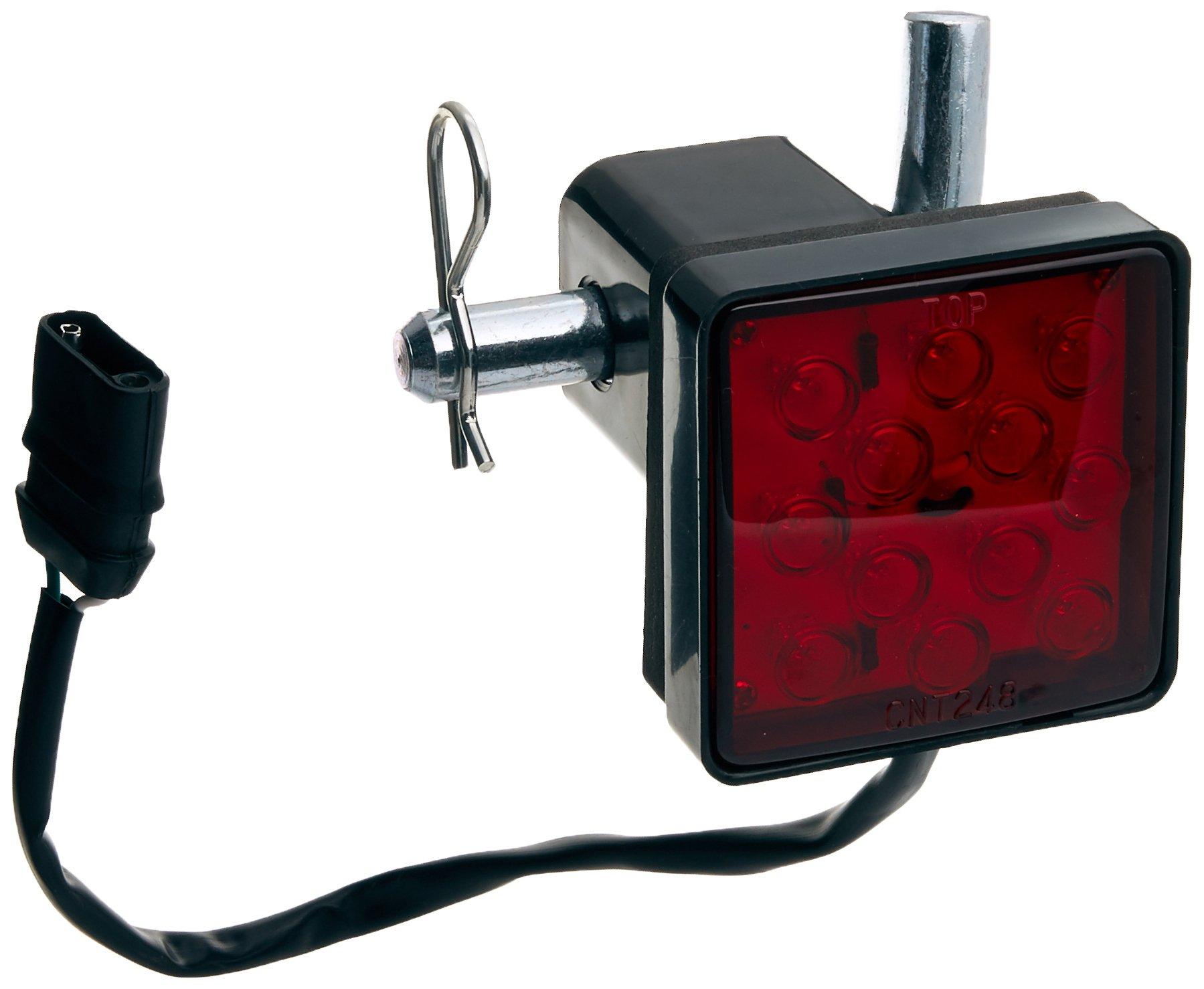 MaxxHaul 70429 Trailer Hitch Cover with 12 LED's Brake Light by MaxxHaul