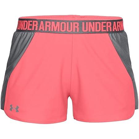 057248d3dacd Under Armour Damen Play Up Shorts 2 Kurze Hose, mehrfarbig(Brilliance    Graphite
