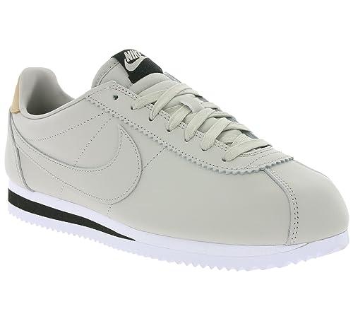 Zapatillas Nike - Classic Cortez Leather Se gris/negro/crema talla: 44: Amazon.es: Zapatos y complementos