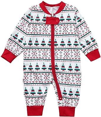 cinnamou Conjunto De Pijamas Familiares De Navidad, Estampado ...