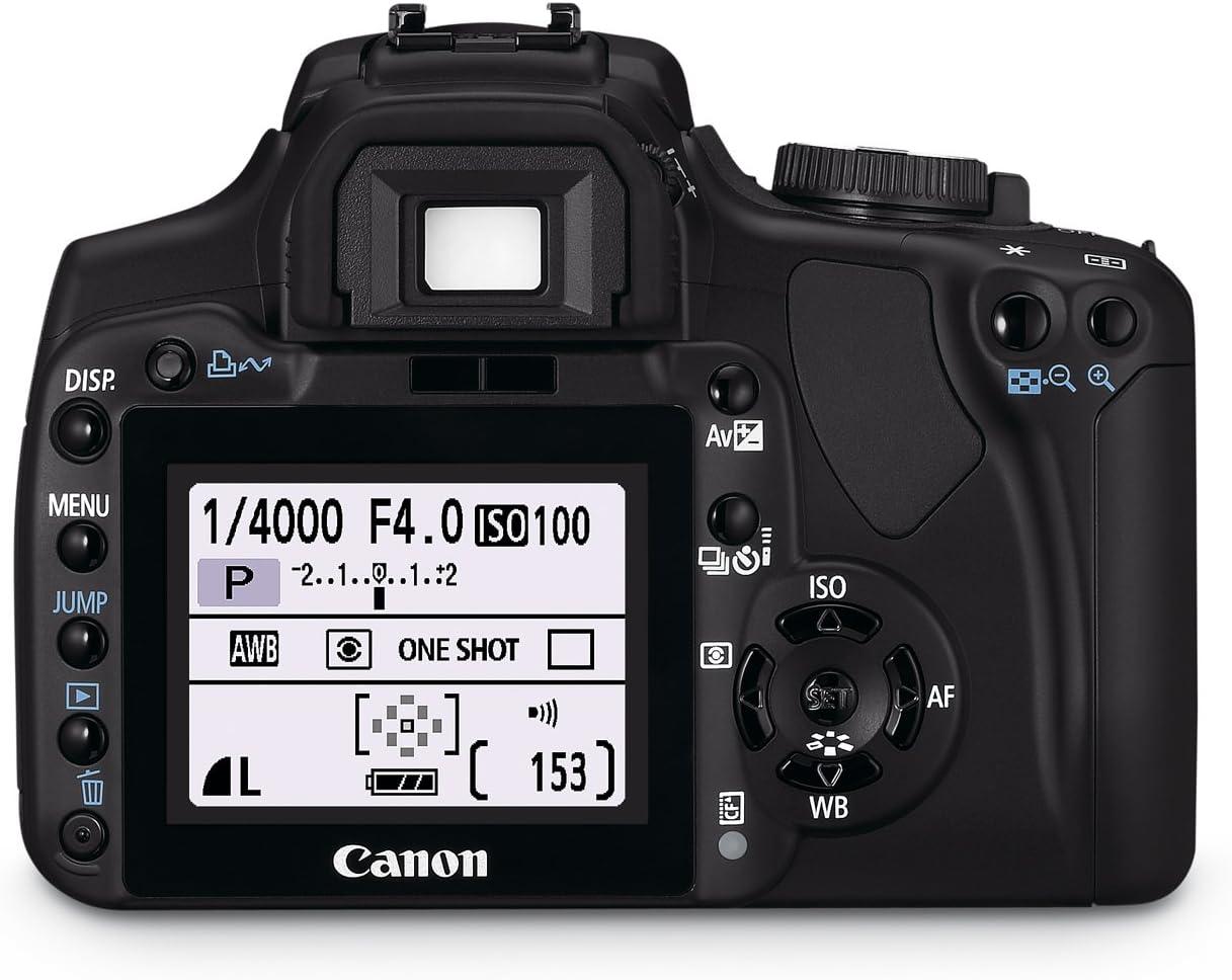 Canon EOS 400D - Cámara Réflex Digital 10.1 MP (Objetivo 1GB CF ...