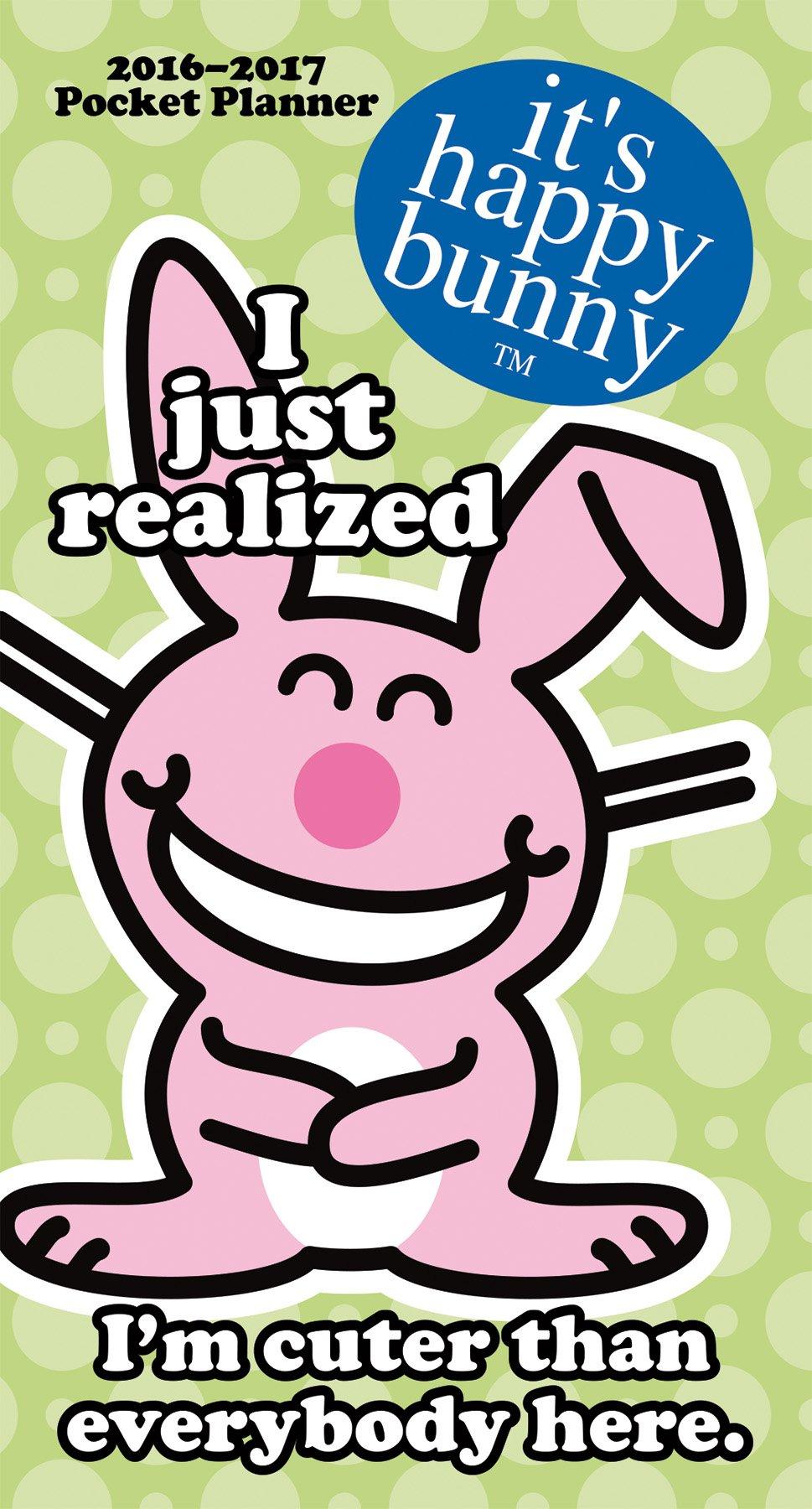 it s happy bunny 2016 pocket planner trends international