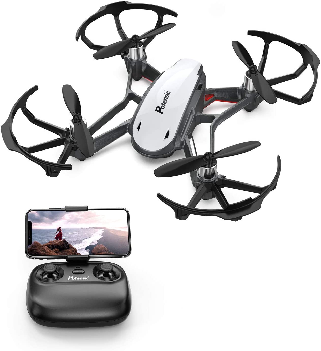 Potensic D20 is at #4 for best drones under 50 dollars