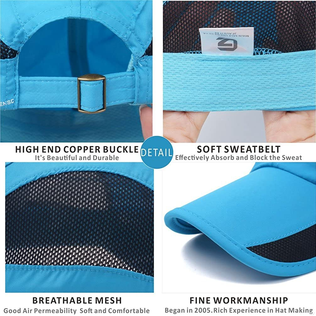 SLBGADIEME Quick Drying Lightweight Outdoor Hat Soft Breathable Sports Running Cap Only 58g 8 Colors