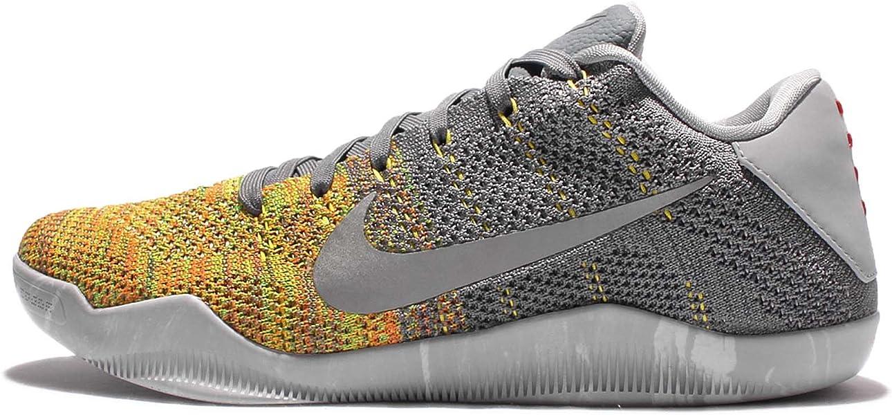 24618f7a922 Nike Mens Kobe Xi Elite Low Basketball Shoes Warrior Night Bruce Lee (10