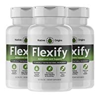 Native Origins Flexify – Glucosamine with Chondroitin Turmeric MSM Boswellia D3...