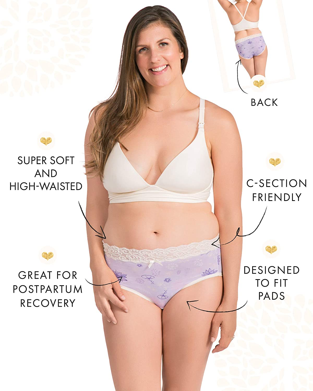 Umstandswasche nach Kaiserschnitt Kindred Bravely High Waist Slip ideal nach Entbindung