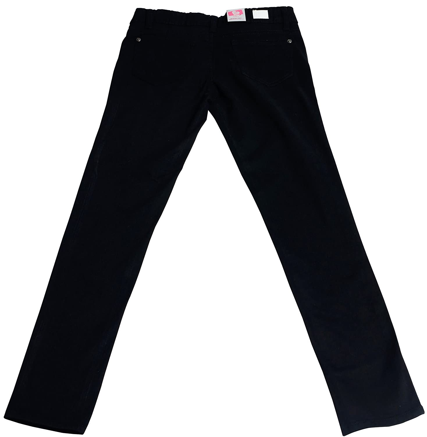 Hey Collection Big Girls Brushed Stretch Twill Skinny Jeans