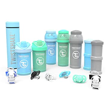 Amazon.com: Twistshake - Juego de 2 vasos de arranque medio ...