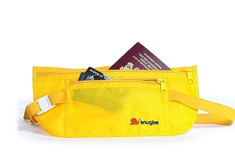 Snugbe® - Riñonera interior Amarillo amarillo claro