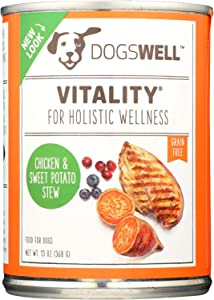 DOGSWELL Vitality Canned Dog Food 12 Pack Chicken