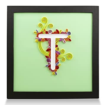 Amazon PaperTalk Letter T Handmade Birthday Personalized Gifts