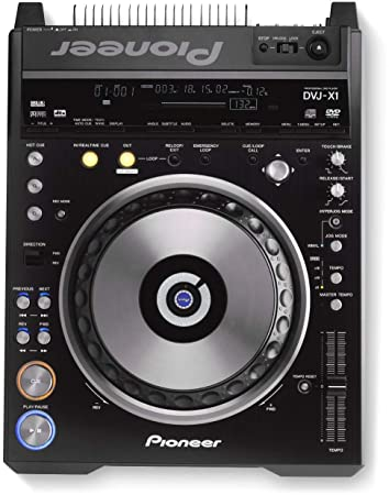 Amazon.com: Pioneer DVJ-X1 Pro DVD CD 32 MB SD tarjeta de ...