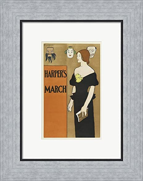 Amazon.com: Brooklyn Museum Poster for Harper\'s Magazine Edward ...