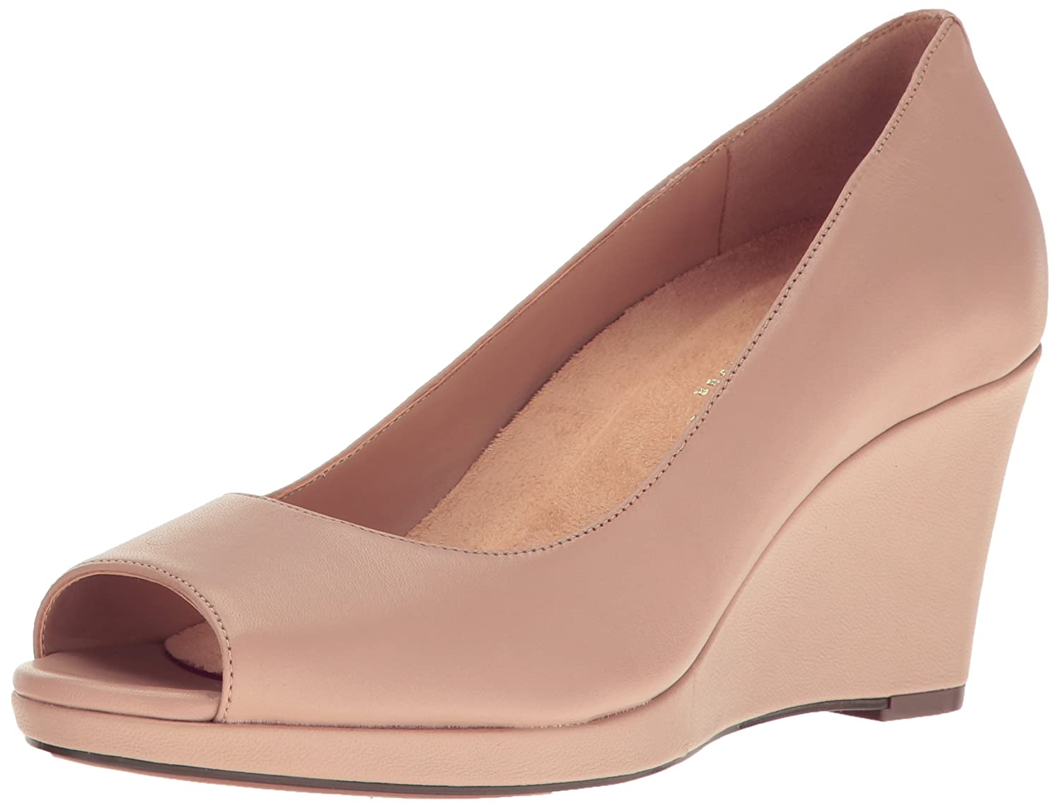 Naturalizer Women's Olivia Wedge Pump B01N3ZC977 6.5 2W US|Taupe