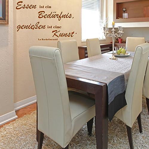 Wandschnörkel Wandtattoo Aa038 Essen Ist Ein Bedürfnis Küche