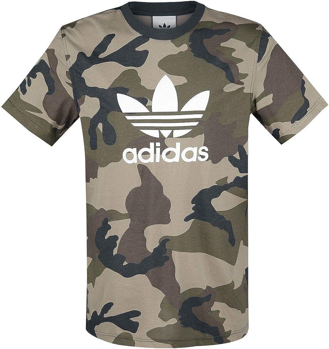 eje negativo estas  Adidas Camo Tee Men's T-Shirt: Amazon.de: Bekleidung