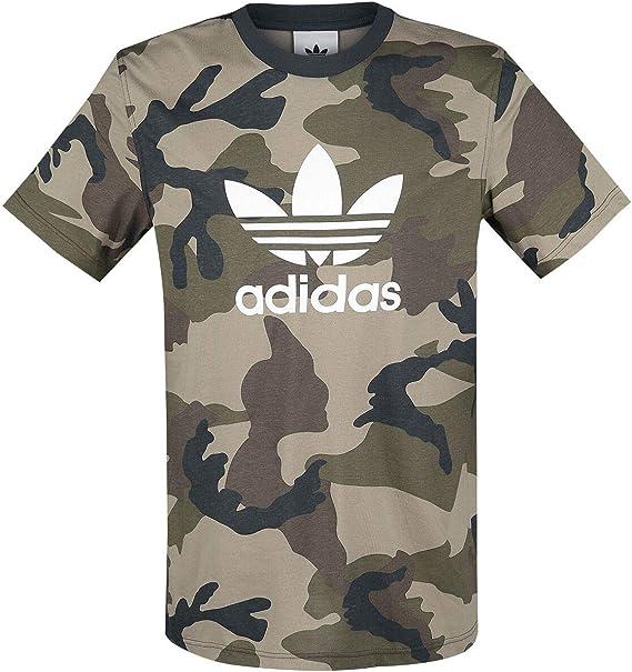T Shirt Adidas Camouflage Trefoil Logo