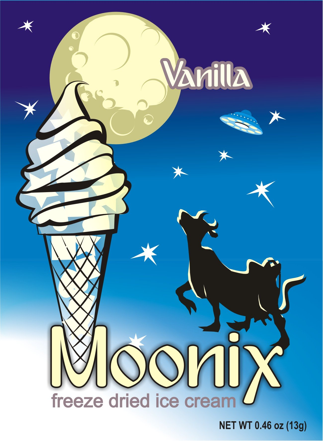 Moonix Freeze Dried Ice Cream (Vanilla)
