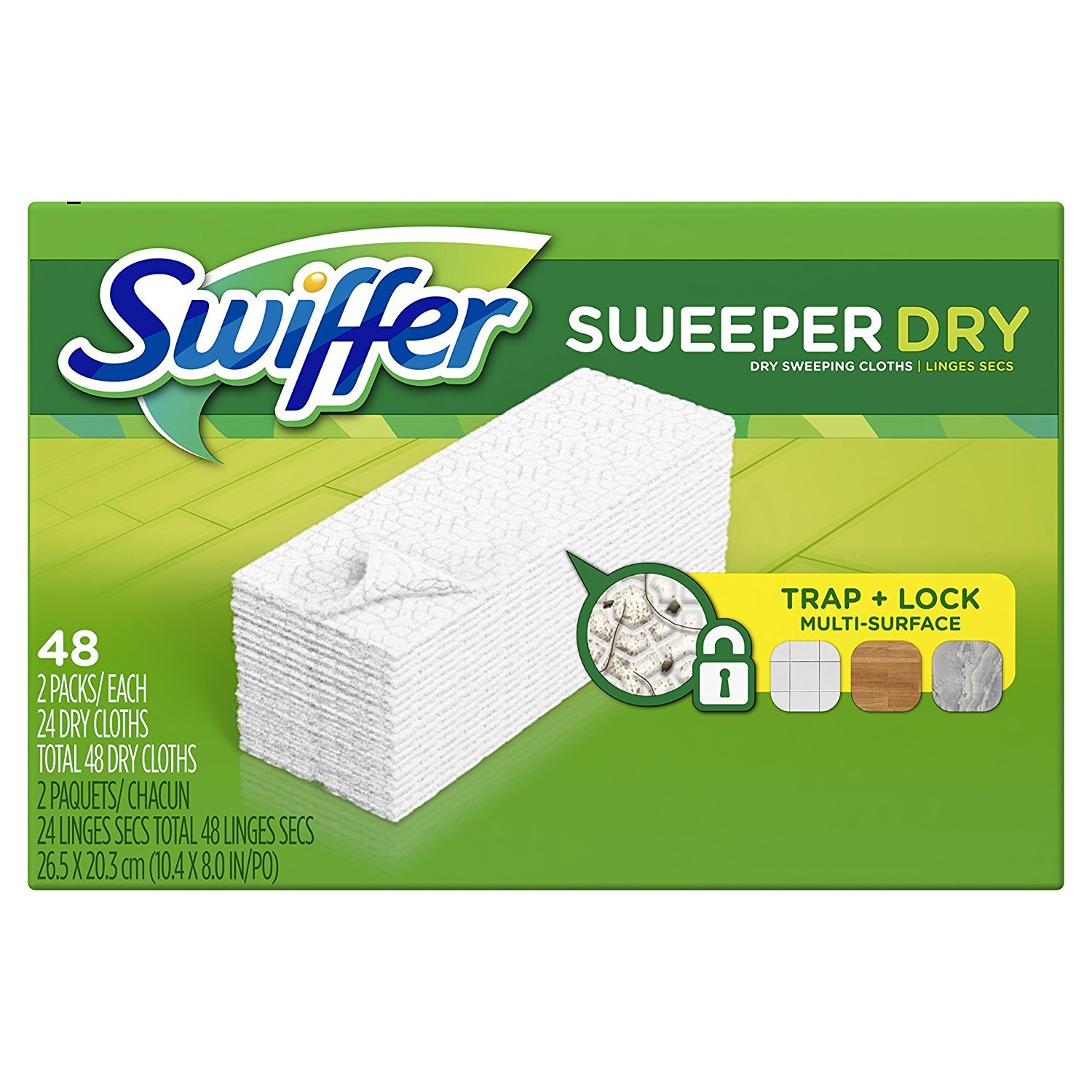 Swiffer Sweeper Dry Sweeping Cloth Refills, 48 Count -5