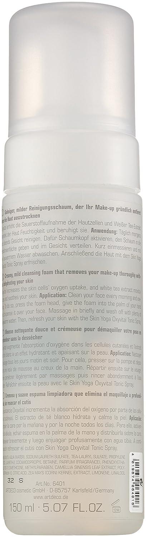 Artdeco femme Face Yoga Piel/mujer, té blanco Cleansing Mousse, 1er Pack (1 x 150 ml)