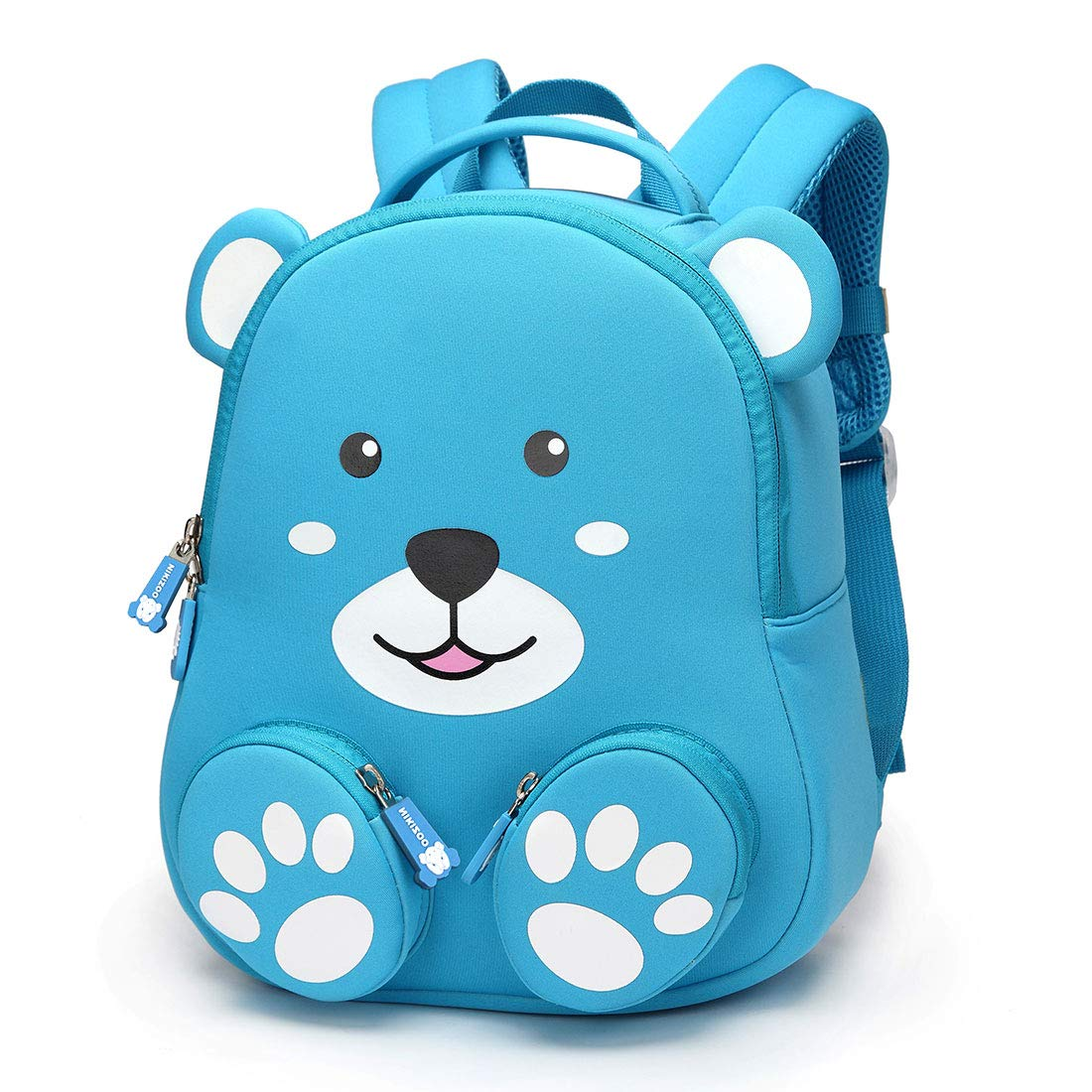 bc16df7948ad Amazon.com  Panda Toddler Backpack 3D Zoo Backpacks with Leash Anti-Lost  Harness Kids Baby Mini Schoolbags Girls Boys Animal Neoprene Waterproof  Bookbag ...