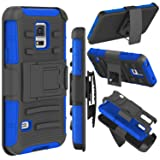 Galaxy S5 Case, Zenic(TM) Hybrid Dual Layer Armor