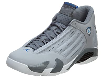 b6b11ea0bf69 ... XIV 14 Light Graphite NIKE Air Jordan 14 Retro Men Sneakers Wolf Grey  Cool Grey White Sport ...