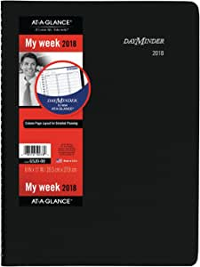 Large daily appointment book planner