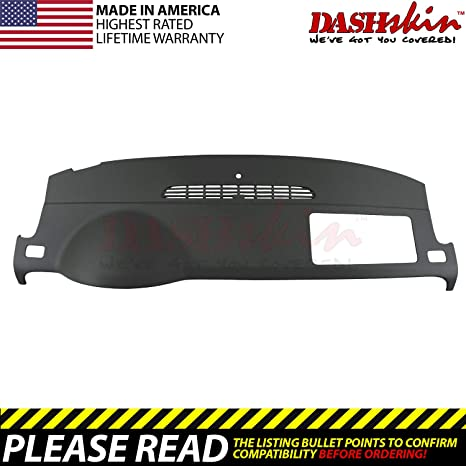 2007 Chevy Tahoe Dashboard Recall >> Dashskin Molded Dash Cover Compatible With 07 14 Gm Suvs W O Dash Speaker In Ebony Usa Made