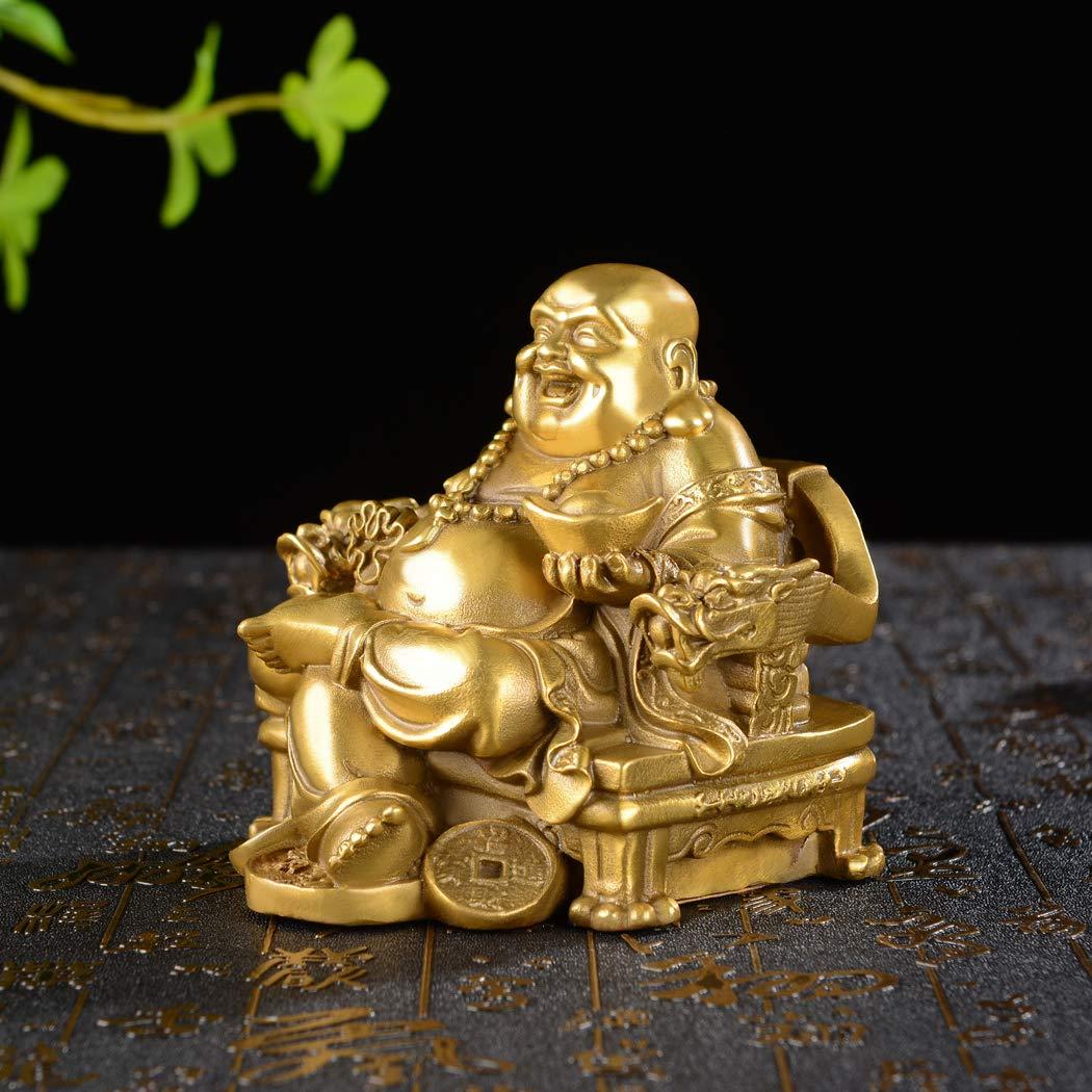 Maitreya Buddha Statue Print Cushion Cover Square Throw Pillows Car Home Decor