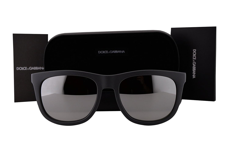 7f5014d35 Amazon.com: Dolce & Gabbana DG6102 Sunglasses Matte Dark Gray w/Light Gray  Mirror Silver Lens 30326G DG 6102 For Men: Clothing