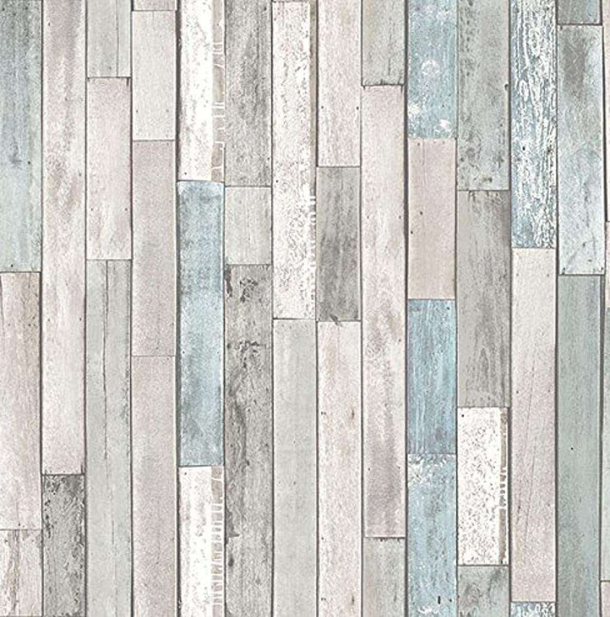 Brewster Wallcovering Co Fd23273 Barn Board Grey Thin Plank Wallpaper Amazon Com