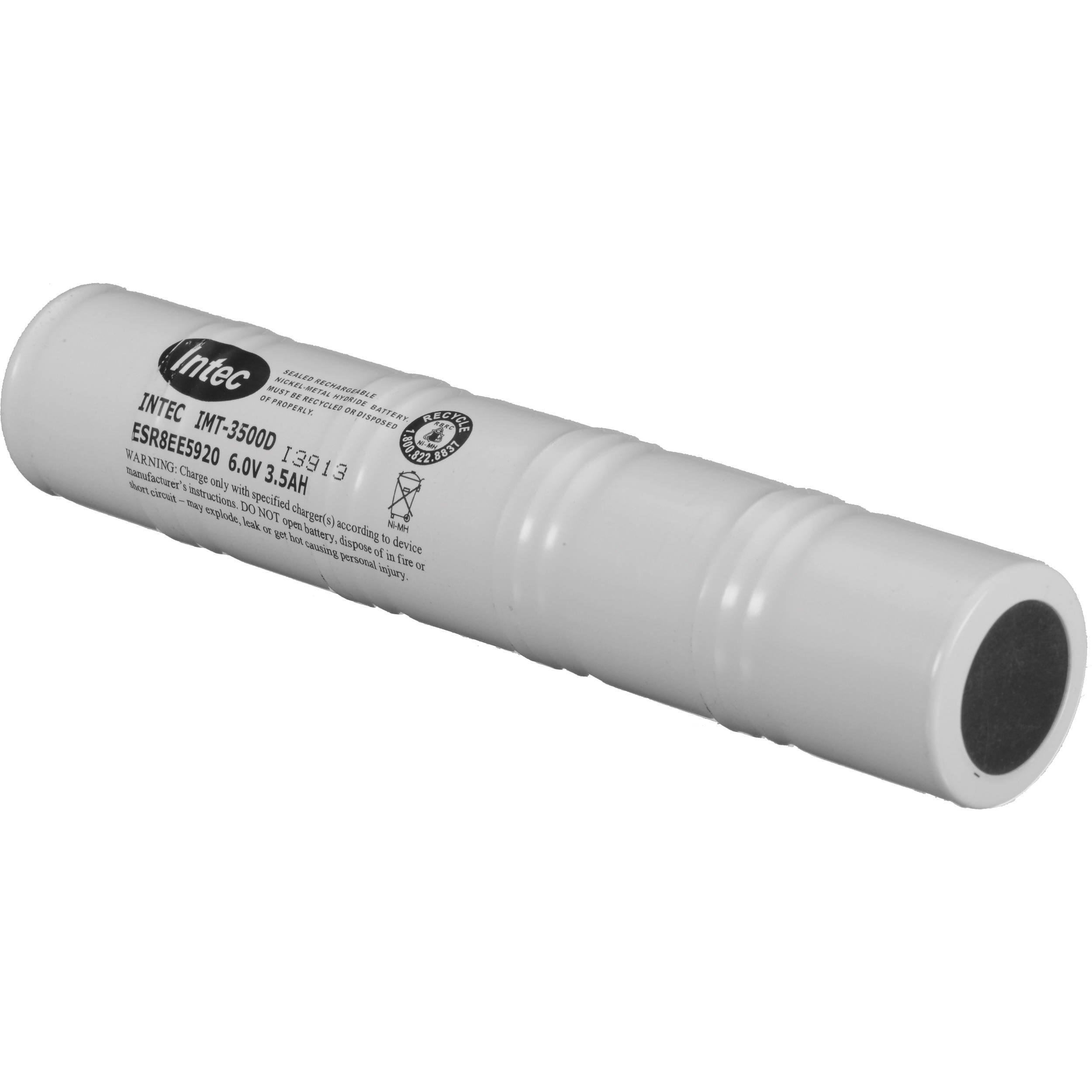 Bateria Maglite : 1 X 6 Volt Nimh Para Mag Charger Arxx235