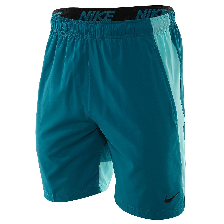 Nike – Shorts M NK FLX Short Woven Trainingsjacke,  Herren, blau – (Blustery Light Aqua schwarz)