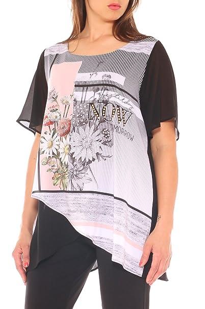 Mujer Para Come Negro Y 53 Amazon Camisas Ropa es Accesorios Prima q4xUw7RU6