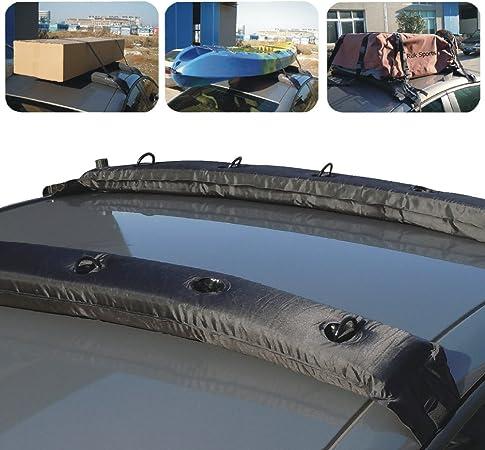 Smartspec Aufblasbarer Universal Dachgepäckträger Weicher Dachträger Für Kajaks Sup Gepäck Auto