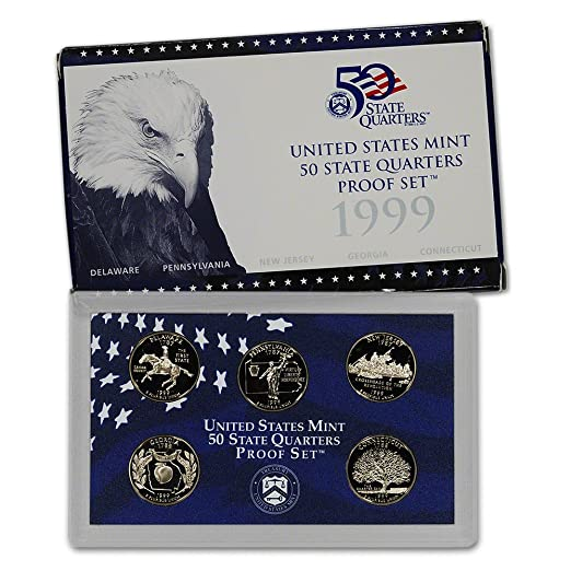 1999 State Quarters Proof Set