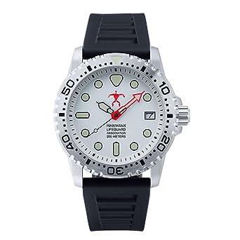 ec53ca1b4f3 Hawaiian Lifeguard Association HLA 5504 Analog Watch  Amazon.co.uk  Watches