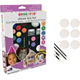 Snazaroo Face Paint Ultimate Party Pack with 10-Piece Applicator Pack